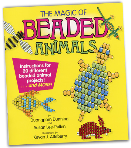 One of a few books on beading projects